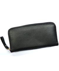 Кожаное портмоне W.0003 черное