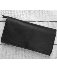 Кожаное портмоне W.0009-CH черное