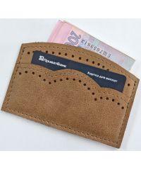 Кожаный кошелек W.003.2 бежевый