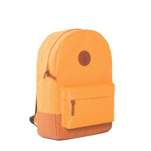 """Рюкзак GIN """"Бронкс"""" оранжевый с рыжим"""