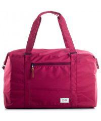 Дорожная сумка GIN XL бордовая