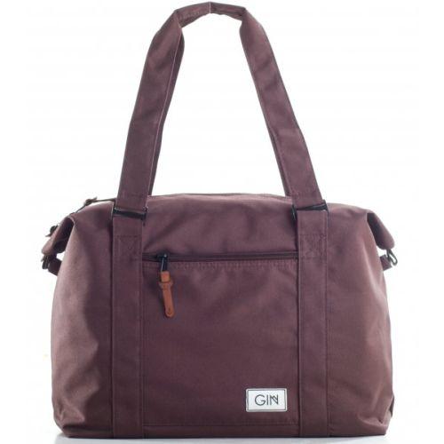Дорожная сумка GIN M коричневая