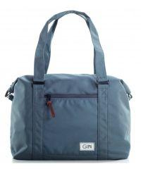 Дорожная сумка GIN M серая