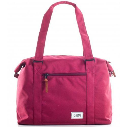 Дорожная сумка GIN M бордовая