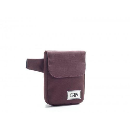 """Поясная сумка GIN """"Юта"""" коричневая"""