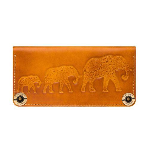 Кошелек Gato Negro Three Elephants оранжевый
