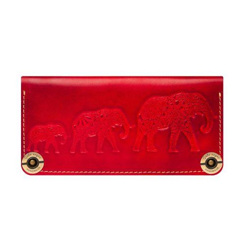 Кошелек Gato Negro Three Elephants красный