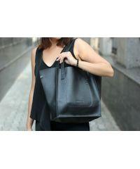 Женская сумка HARVEST shopper bag 01 черная