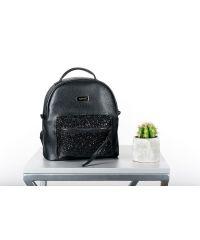 Женский рюкзак HARVEST SMALL глянцевый черный