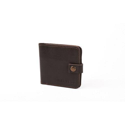 Бумажник HARVEST CLIP BROWN коричневый