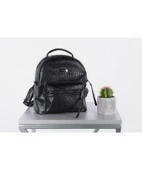 Женский рюкзак HARVEST SMALL кроко черный