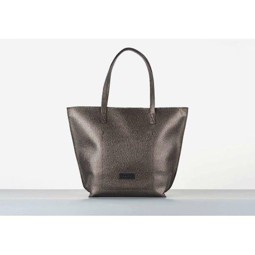 Женская сумка HARVEST shopper bag 02 на молнии бронзовая
