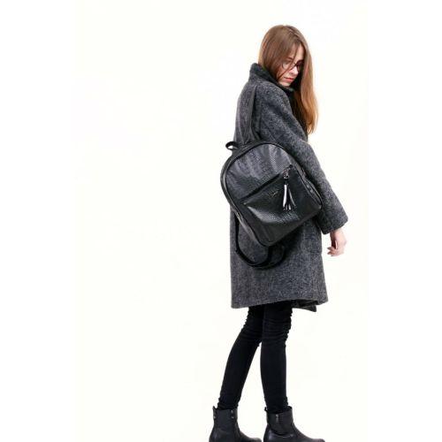 Рюкзак HARVEST MINI + кроко черный