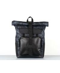 Рюкзак HARVEST WIDE 1 геометрия серый