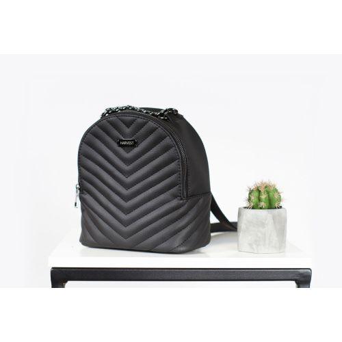 Женская сумка-рюкзак HARVEST черная