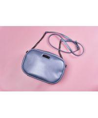 Женская сумочка HARVEST glossy pale blue голубая