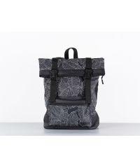 Рюкзак HARVEST ROLL листья черный