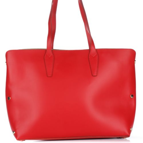 Женская кожаная сумка 1853 красная Италия