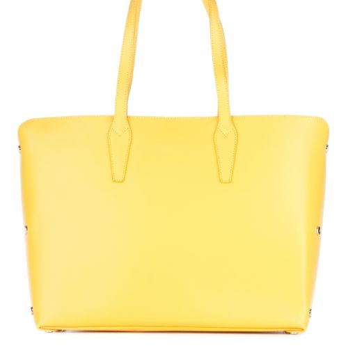 Женская кожаная сумка 1853 желтая Италия
