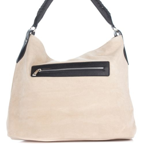 Женская замшевая сумка 1927 бежевая Италия