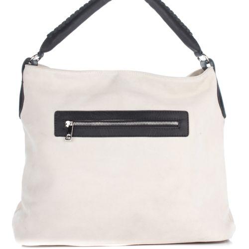 Женская замшевая сумка 1927 белая Италия