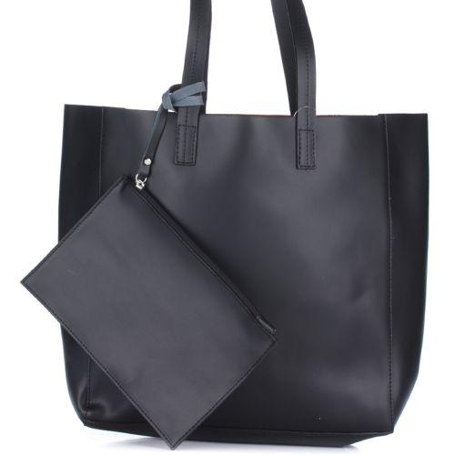 Женская кожаная сумка 3000 черная Италия