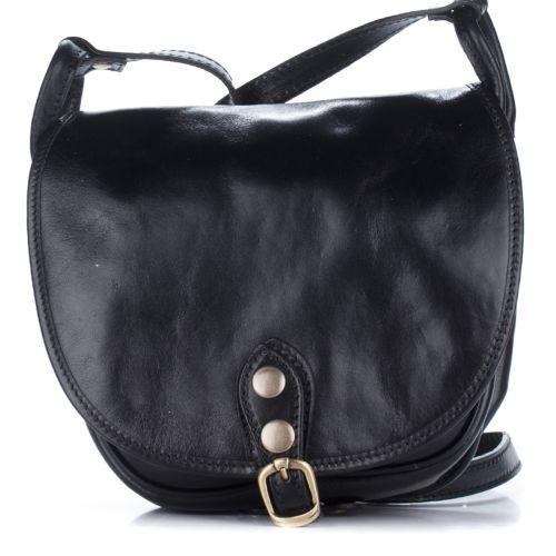 Женский кожаный клатч 9137 черный Италия
