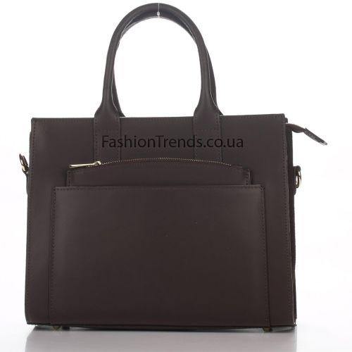 Кожаная сумка 1726 коричневая Италия
