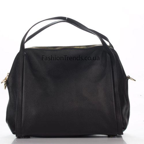 Кожаная сумка 1773 черная Италия