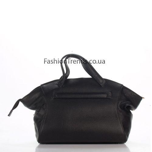 Кожаная сумка 8251 черная Италия