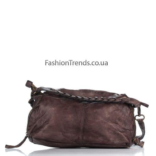 Кожаная сумка 980 коричневая Италия