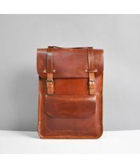 Кожаный рюкзак Jizuz Retro виски