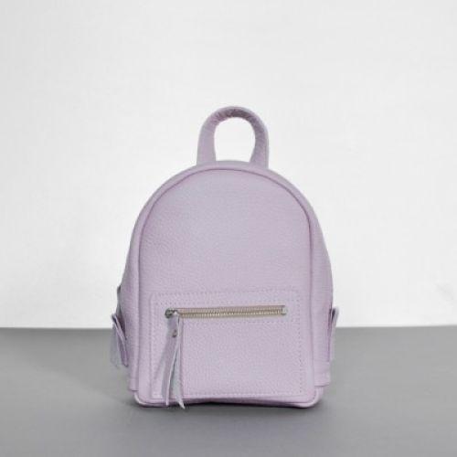 Женский кожаный рюкзак Baby Sport Cipria фиолетовый