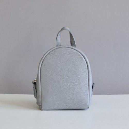 Женский кожаный рюказк Baby Sport Grey naked серый