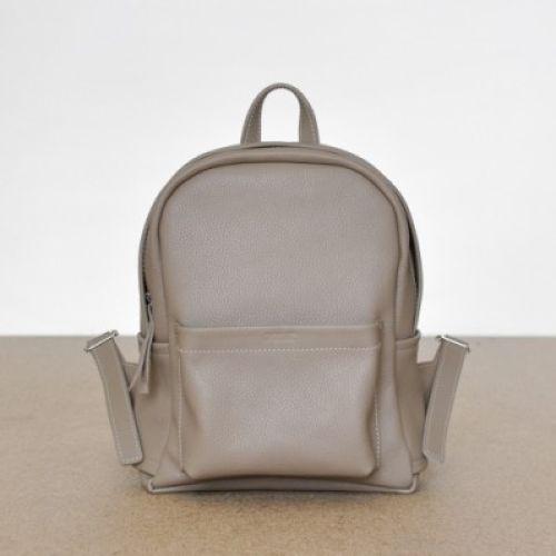 Женский кожаный рюкзак Jizuz Carbon-S Beige бежевый