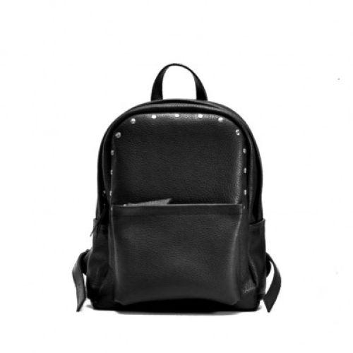 Женский кожаный рюкзак Jizuz Carbon-S черный