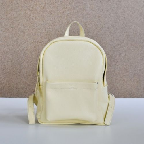 Женский кожаный рюкзак Jizuz Carbon-S Yellow желтый
