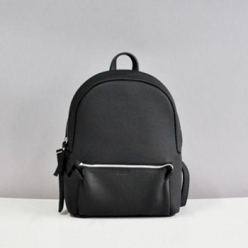 Кожаный рюкзак Jizuz Pilot Black Elephant черный