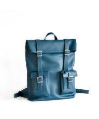Кожаный рюкзак Mount Emerald зеленый