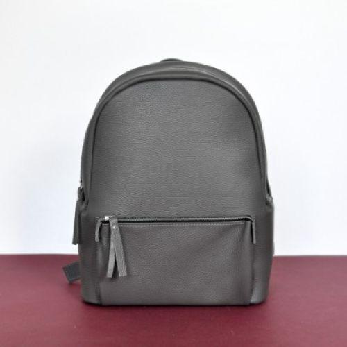 Кожаный рюкзак Pilot Dark Grey серый