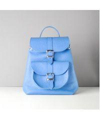 Кожаный рюкзак Сlassik Sky небесный