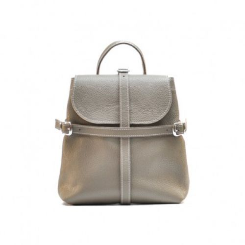 Женский кожаный рюкзак Symbol Beige бежевый