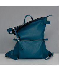 Кожаный рюкзак Voyager Emerald зеленый