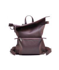 Кожаный рюкзак Voyager Wine фиолетовый