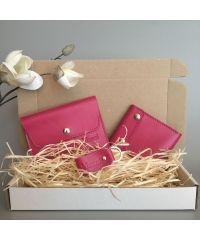 Подарочный набор Klasni Aconite розовый К-08-06-10-3