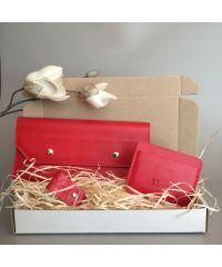 Подарочный набор Klasni Monarda красный N-7-R
