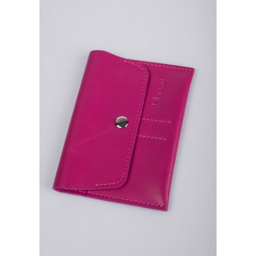 Портмоне для водителей Klasni 0307 розовое K-03-07-10-3