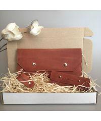 Подарочный набор Klasni Monarda коричневый N-1-Br