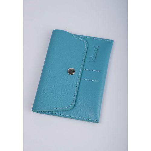 Портмоне для водителей Klasni 0307 голубое K-03-07-08-3