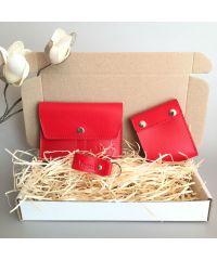 Подарочный набор Klasni Mini красный К-08-05-01-3